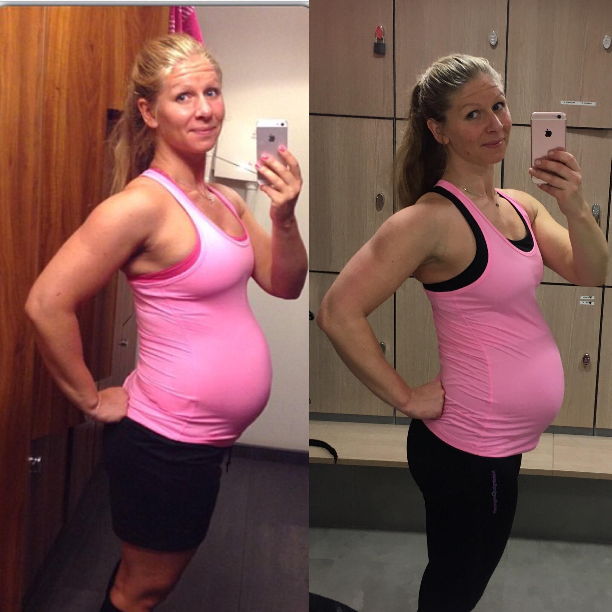 ont i svanskotan gravid